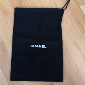 New Chanel shoe dust bag